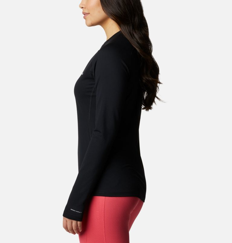 W Omni-Heat 3D™ Knit Crew II | 010 | M Women's Omni-Heat 3D™ Knit Crew II Baselayer Shirt, Black, a1