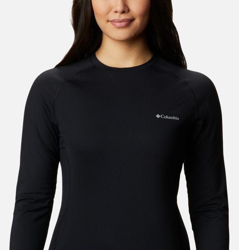 W Omni-Heat 3D™ Knit Crew II | 010 | M Women's Omni-Heat 3D™ Knit Crew II Baselayer Shirt, Black, a2