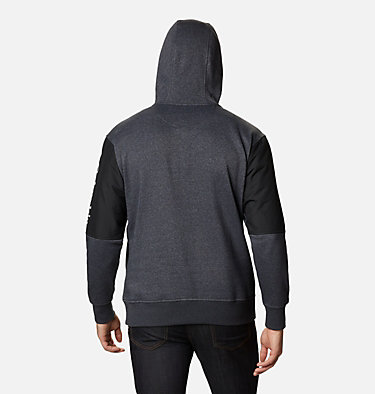 Men's Minam River™ Pullover Hoodie Minam River™ Hoodie | 011 | S, Shark Heather, Black, back