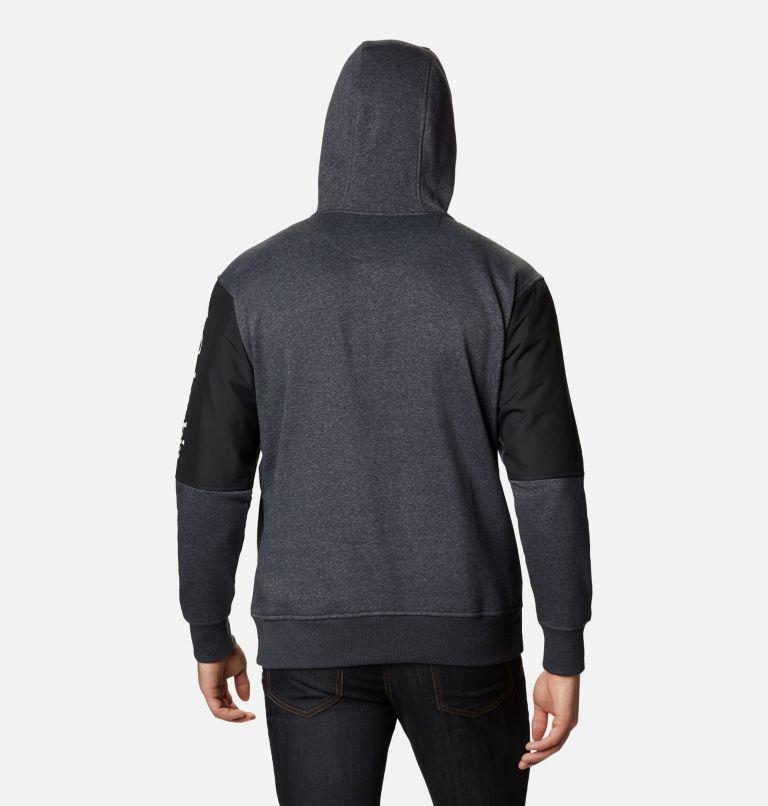Minam River™ Hoodie | 011 | L Men's Minam River™ Pullover Hoodie, Shark Heather, Black, back