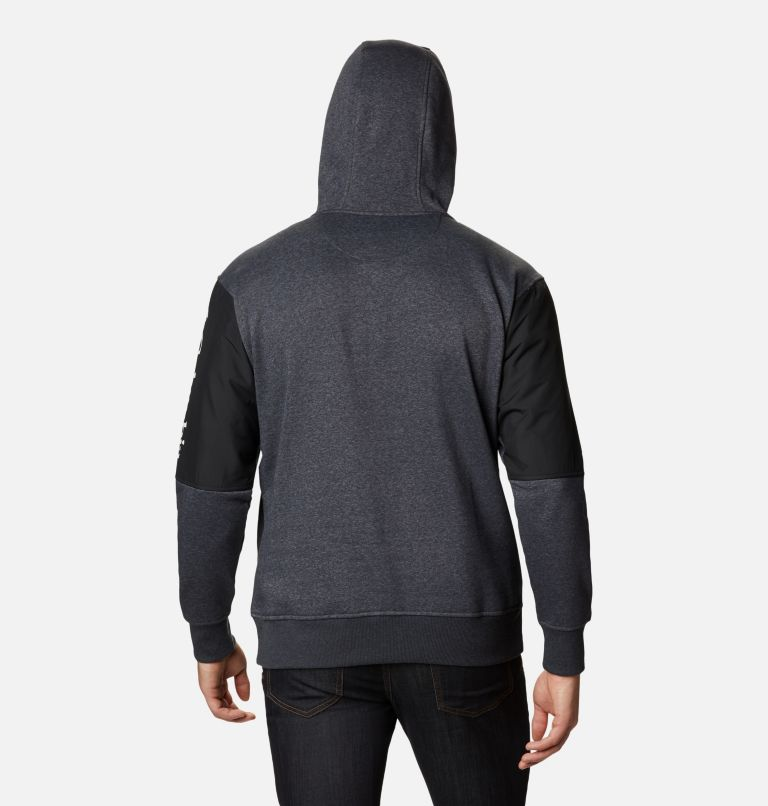 Minam River™ Hoodie | 011 | XL Men's Minam River™ Pullover Hoodie, Shark Heather, Black, back