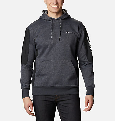 Men's Minam River™ Pullover Hoodie Minam River™ Hoodie | 011 | S, Shark Heather, Black, front
