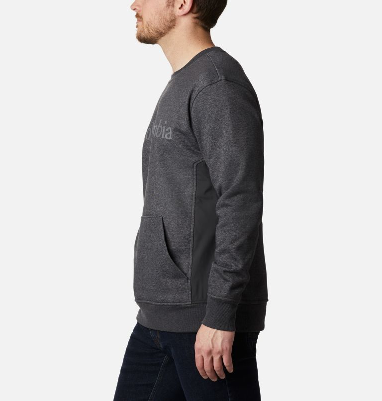 Minam River™ Crew | 010 | XL Men's Minam River™ Crew, Black Heather, Black, a1