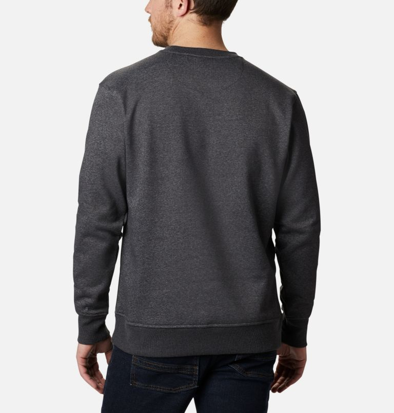 Minam River™ Crew | 010 | XL Men's Minam River™ Crew, Black Heather, Black, back