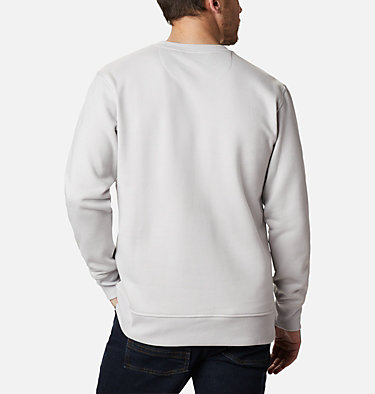 Men's Minam River™ Crew Minam River™ Crew | 010 | L, Nimbus Grey Heather, City Grey, back