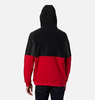 Men's Columbia Lodge™ II Fleece Hoodie Columbia Lodge™ II Fleece Hoodie | 023 | L, Mountain Red, Black, Shark, back