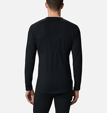 Camicia baselayer Omni-Heat 3D Knit Crew II da uomo Omni-Heat 3D™ Knit Crew II | 432 | L, Black, back