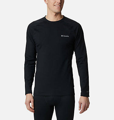 Men's Omni-Heat 3D™ Knit Crew II Baselayer Shirt Omni-Heat 3D™ Knit Crew II | 432 | L, Black, front