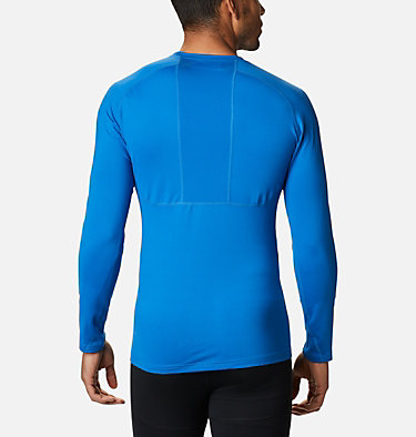 Men's Omni-Heat 3D™ Knit Crew II Baselayer Shirt Omni-Heat 3D™ Knit Crew II | 432 | L, Bright Indigo, back