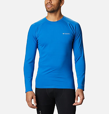 Men's Omni-Heat 3D™ Knit Crew II Baselayer Shirt Omni-Heat 3D™ Knit Crew II | 432 | L, Bright Indigo, front