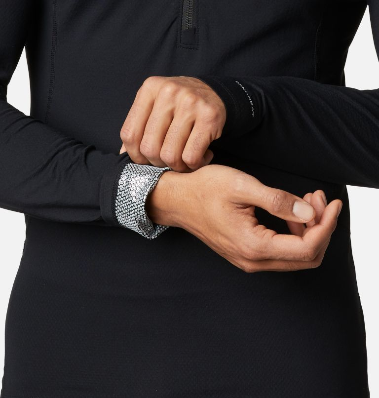 Men's Omni-Heat 3D™ Knit Half Zip II Baselayer Shirt Men's Omni-Heat 3D™ Knit Half Zip II Baselayer Shirt, a4
