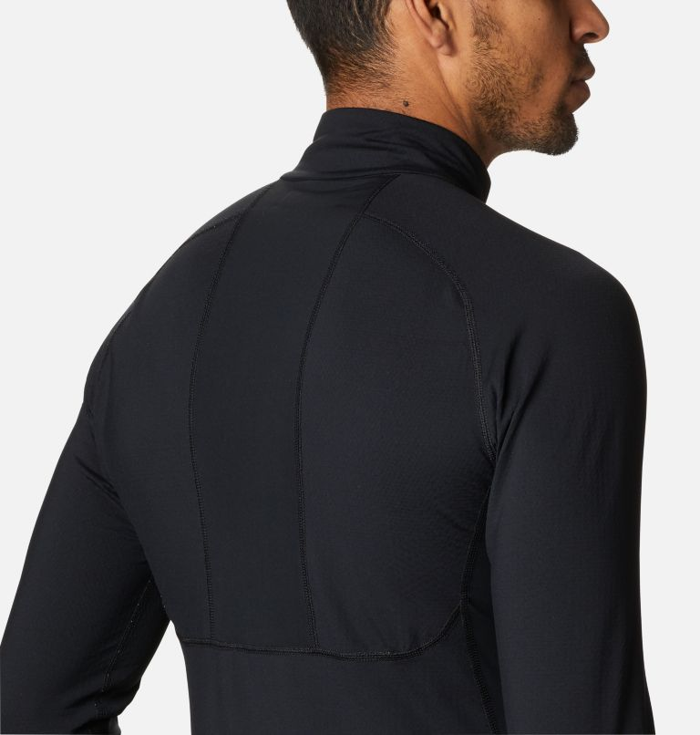 Couche de base avec demi-fermeture éclair en tricot 3D™ Omni-Heat II pour homme Couche de base avec demi-fermeture éclair en tricot 3D™ Omni-Heat II pour homme, a5