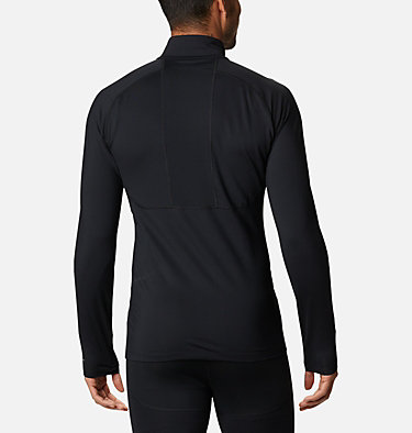 Men's Omni-Heat 3D™ Knit Half Zip II Baselayer Shirt Omni-Heat 3D™ Knit Half Zip II | 613 | L, Black, back