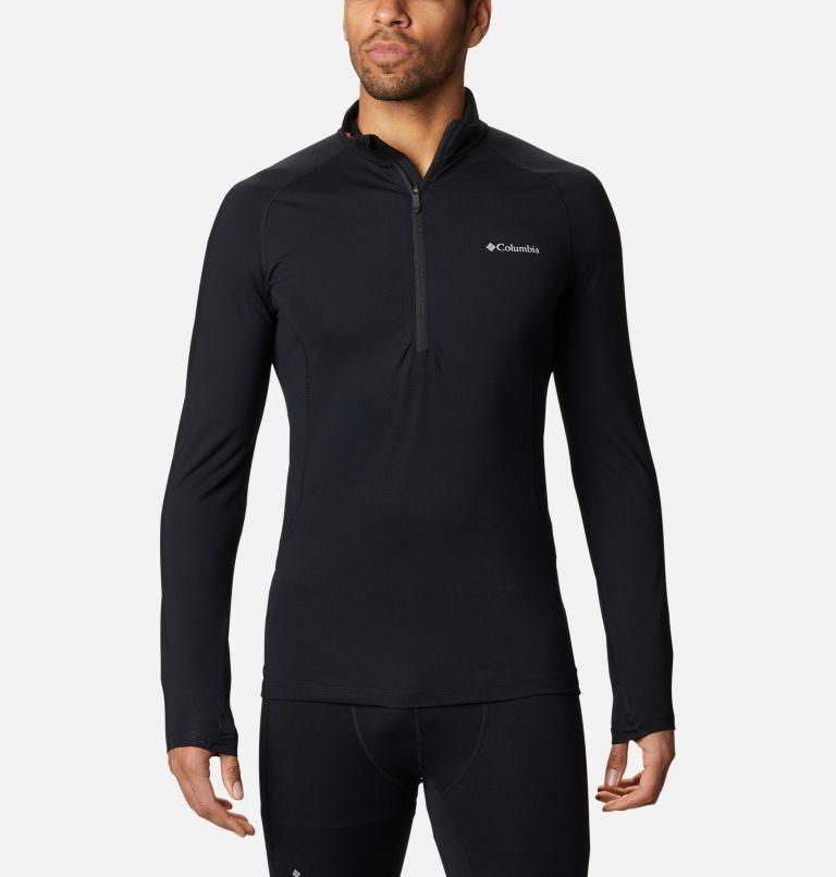 Couche de base avec demi-fermeture éclair en tricot 3D™ Omni-Heat II pour homme Couche de base avec demi-fermeture éclair en tricot 3D™ Omni-Heat II pour homme, front