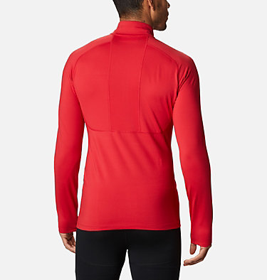 Men's Omni-Heat 3D™ Knit Half Zip II Baselayer Shirt Omni-Heat 3D™ Knit Half Zip II | 613 | L, Mountain Red, back