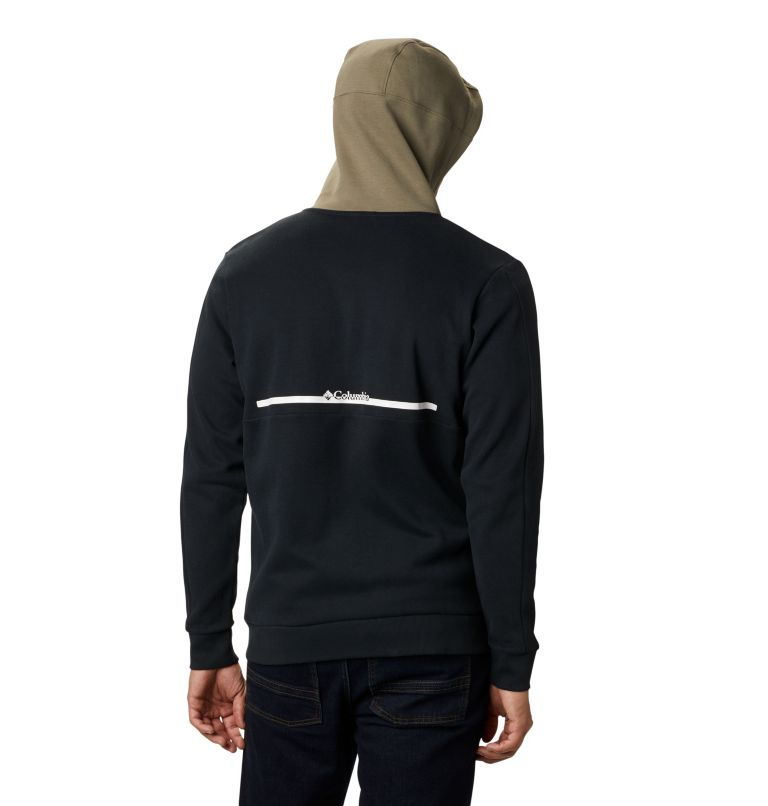 Mountain View™ Full Zip   010   S Chandail à fermeture éclair Mountain View™ pour homme, Black, White, back