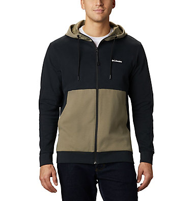 Chandail à fermeture éclair Mountain View™ pour homme Mountain View™ Full Zip | 100 | S, Black, White, front