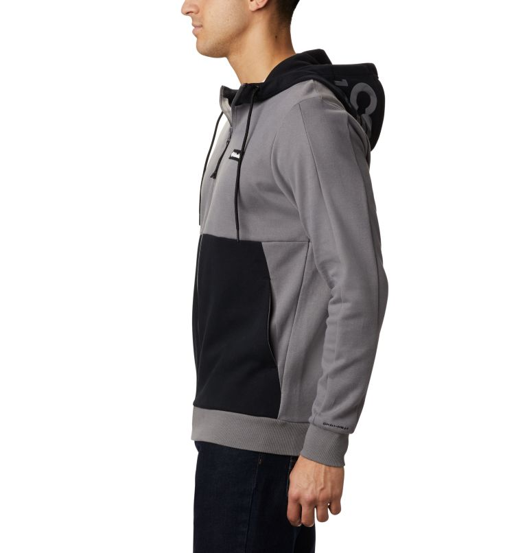 Mountain View™ Full Zip | 023 | S Chandail à fermeture éclair Mountain View™ pour homme, City Grey, Columbia Grey, a1