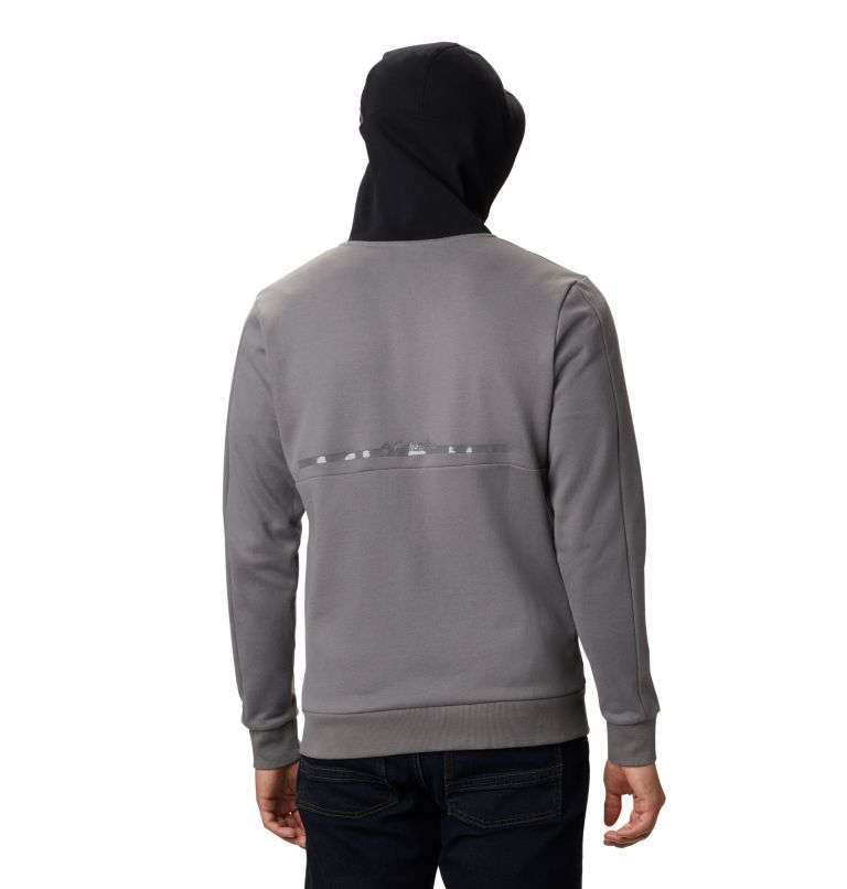 Mountain View™ Full Zip | 023 | S Chandail à fermeture éclair Mountain View™ pour homme, City Grey, Columbia Grey, back