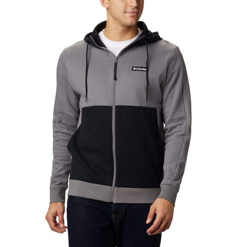 Mountain View™ Full Zip | 023 | S Chandail à fermeture éclair Mountain View™ pour homme, City Grey, Columbia Grey, front