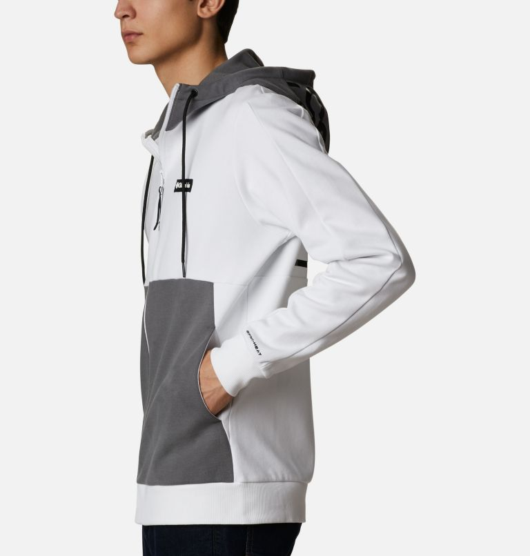 Mountain View™ Full Zip | 100 | XL Chandail à fermeture éclair Mountain View™ pour homme, White, Black, a1
