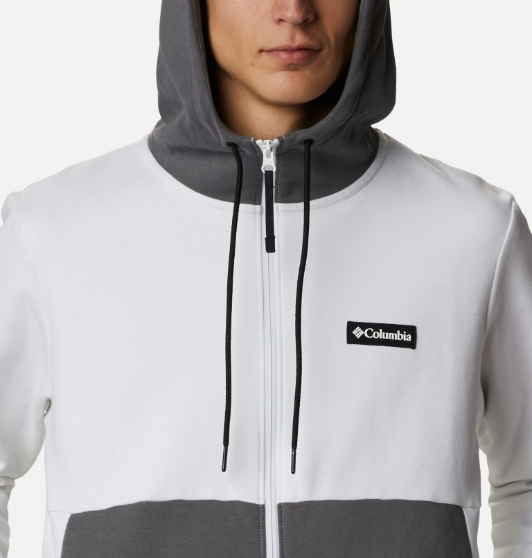 Mountain View™ Full Zip | 100 | XL Chandail à fermeture éclair Mountain View™ pour homme, White, Black, a2