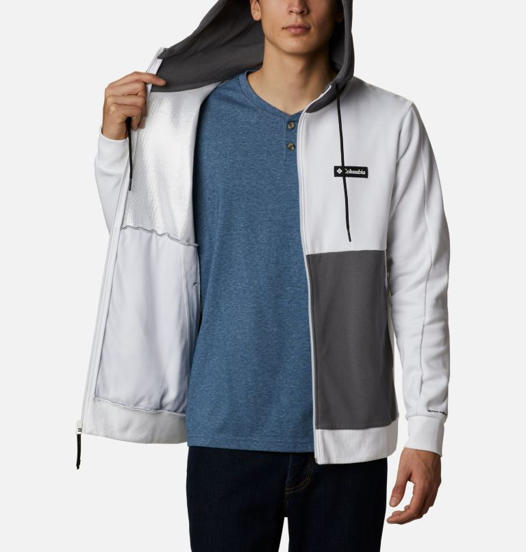 Mountain View™ Full Zip | 100 | XL Chandail à fermeture éclair Mountain View™ pour homme, White, Black, a3