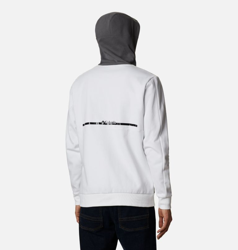 Mountain View™ Full Zip | 100 | XL Chandail à fermeture éclair Mountain View™ pour homme, White, Black, back