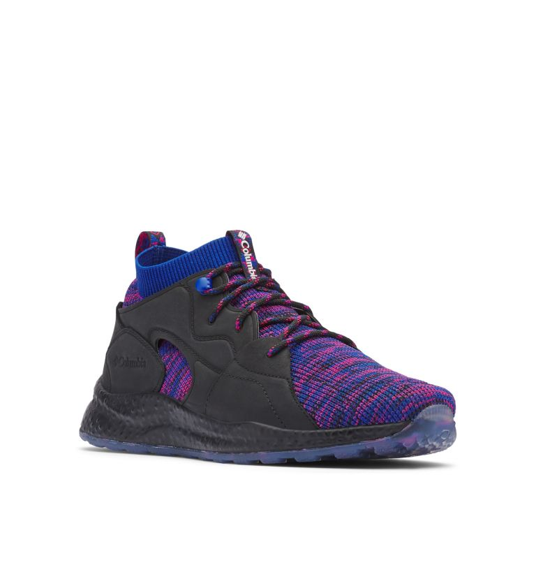 SH/FT™ MID OUTDRY™ | 012 | 9 Men's SH/FT™ Mid OutDry™ Shoe - Icons, Black, Azul, 3/4 front