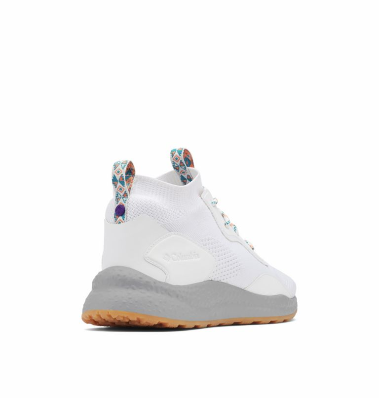 SH/FT™ MID BREEZE | 100 | 8.5 Men's SH/FT™ Mid Breeze Shoe, White, Vivid Purple, 3/4 back