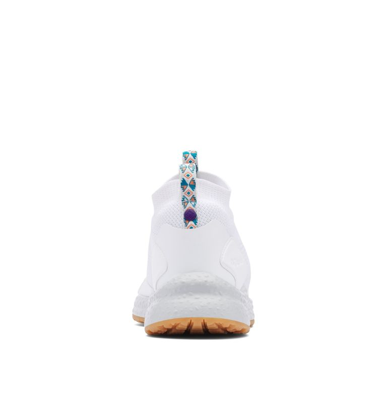 SH/FT™ MID BREEZE | 100 | 8.5 Men's SH/FT™ Mid Breeze Shoe, White, Vivid Purple, back
