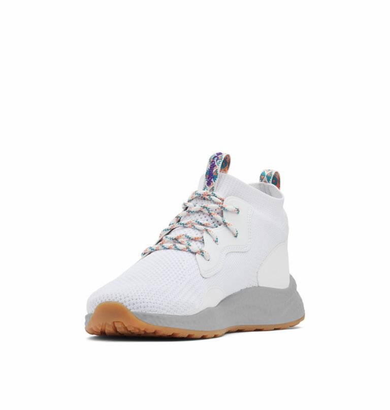 SH/FT™ MID BREEZE | 100 | 8.5 Men's SH/FT™ Mid Breeze Shoe, White, Vivid Purple