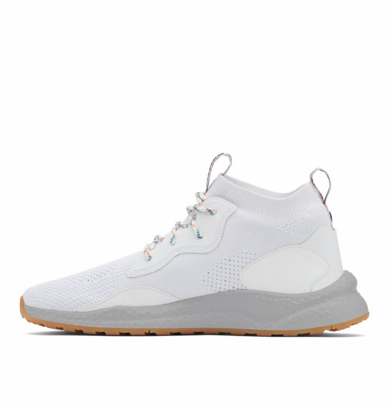 SH/FT™ MID BREEZE | 100 | 8.5 Men's SH/FT™ Mid Breeze Shoe, White, Vivid Purple, medial