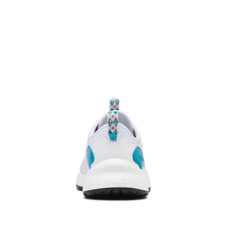 SH/FT™ LOW BREEZE | 100 | 11.5 Men's SH/FT™ Low Breeze Shoe - Icons, White, Clear Water, back