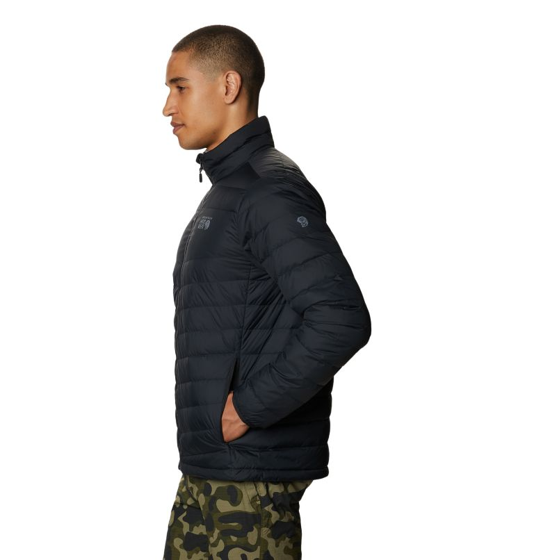 Hotlum M Jacket | 090 | M Men's Hotlum Down Jacket, Black, a1