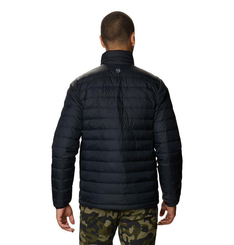 Hotlum M Jacket | 090 | M Men's Hotlum Down Jacket, Black, back