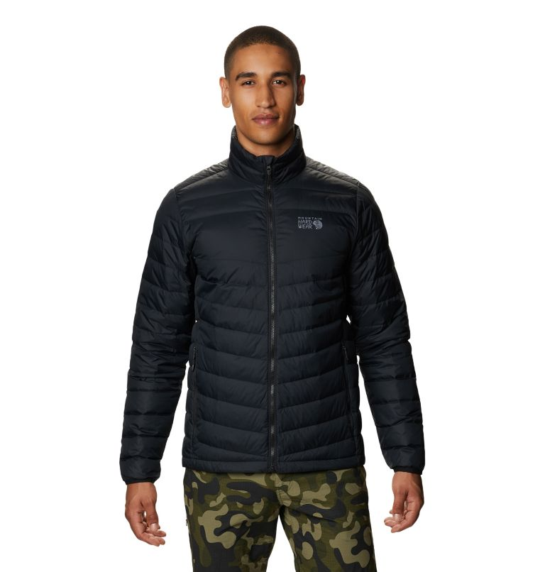 Hotlum M Jacket | 090 | M Men's Hotlum Down Jacket, Black, front