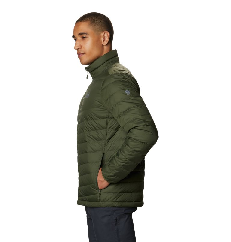 Hotlum M Jacket | 347 | M Men's Hotlum Down Jacket, Surplus Green, a1