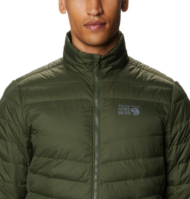Hotlum M Jacket | 347 | M Men's Hotlum Down Jacket, Surplus Green, a2