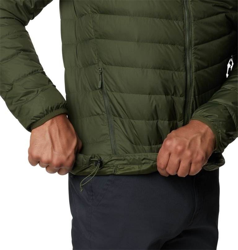 Hotlum M Jacket | 347 | XL Men's Hotlum Down Jacket, Surplus Green, a3