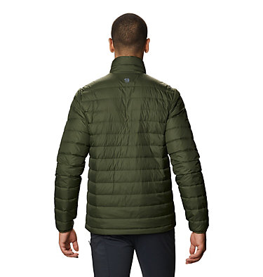 Men's Hotlum Down Jacket Hotlum M Jacket | 090 | L, Surplus Green, back