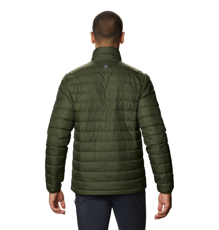 Hotlum M Jacket | 347 | XL Men's Hotlum Down Jacket, Surplus Green, back