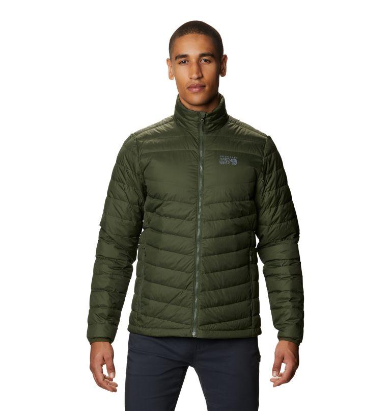 Hotlum M Jacket | 347 | XL Men's Hotlum Down Jacket, Surplus Green, front