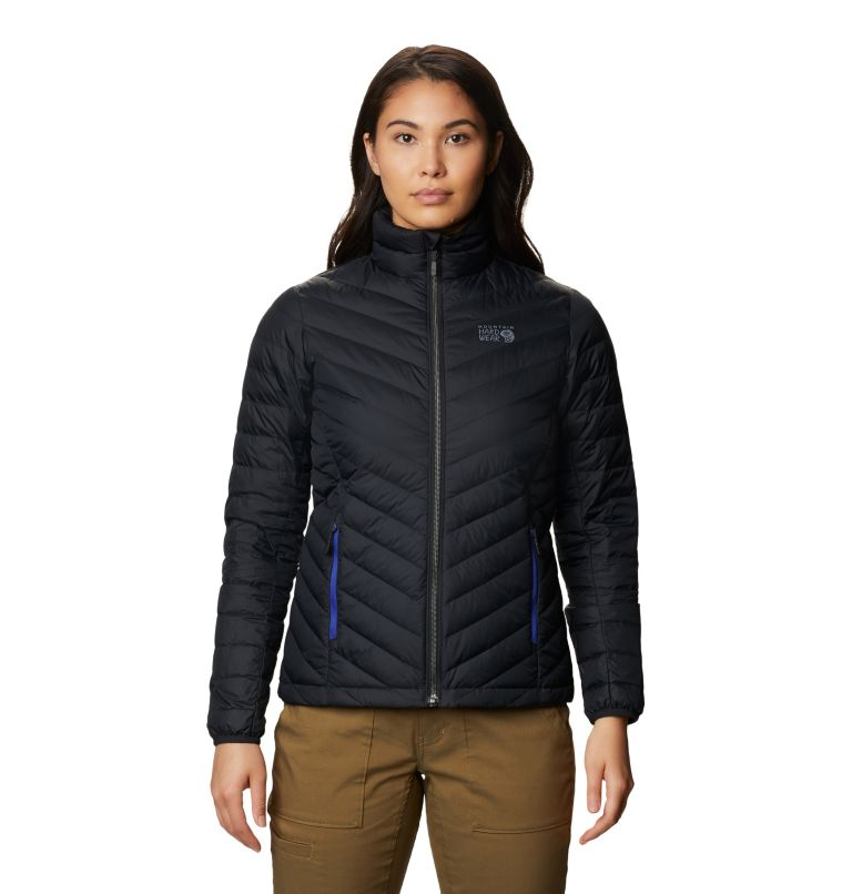 Hotlum W Jacket | 010 | M Women's Hotlum Down Jacket, Black, front