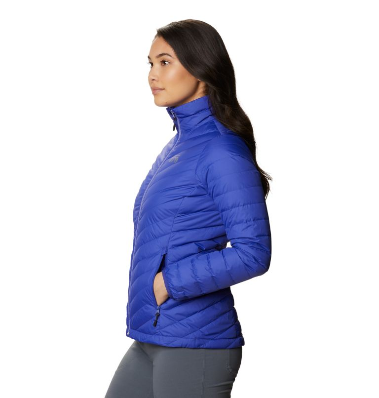 Hotlum W Jacket | 516 | L Women's Hotlum Down Jacket, Blue Print, a1