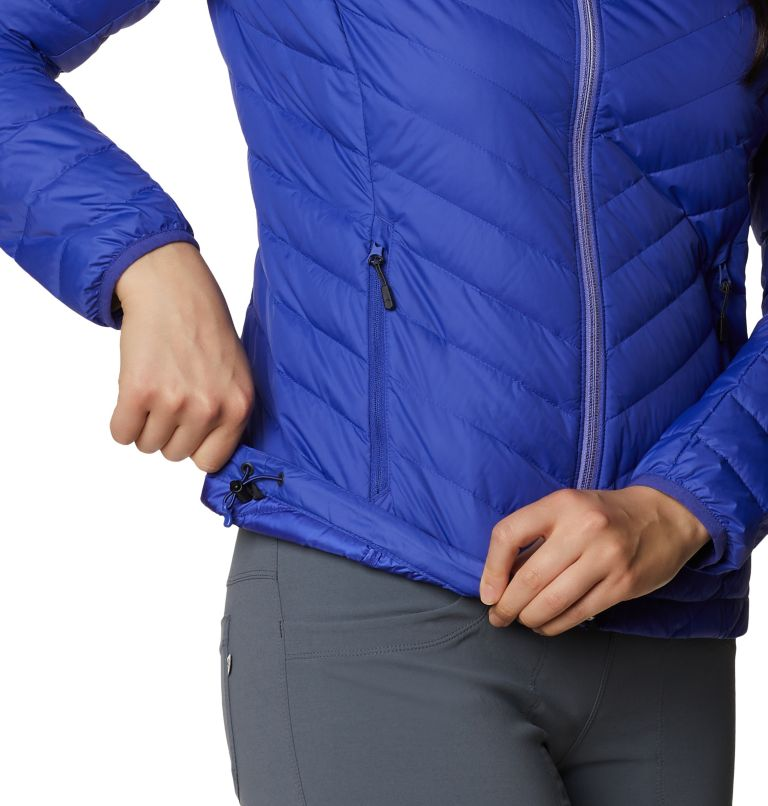 Hotlum W Jacket | 516 | L Women's Hotlum Down Jacket, Blue Print, a3