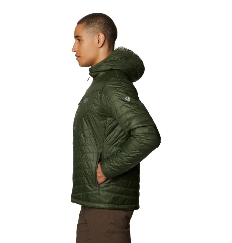Derra Hooded Jacket M | 347 | XL Men's Derra Hooded Jacket, Surplus Green, a1