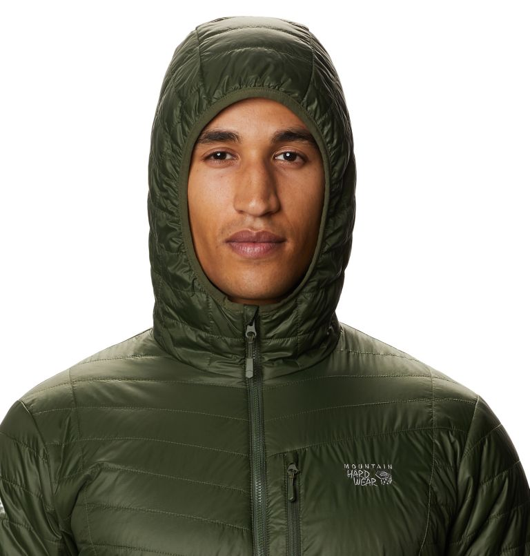 Derra Hooded Jacket M | 347 | XL Men's Derra Hooded Jacket, Surplus Green, a2