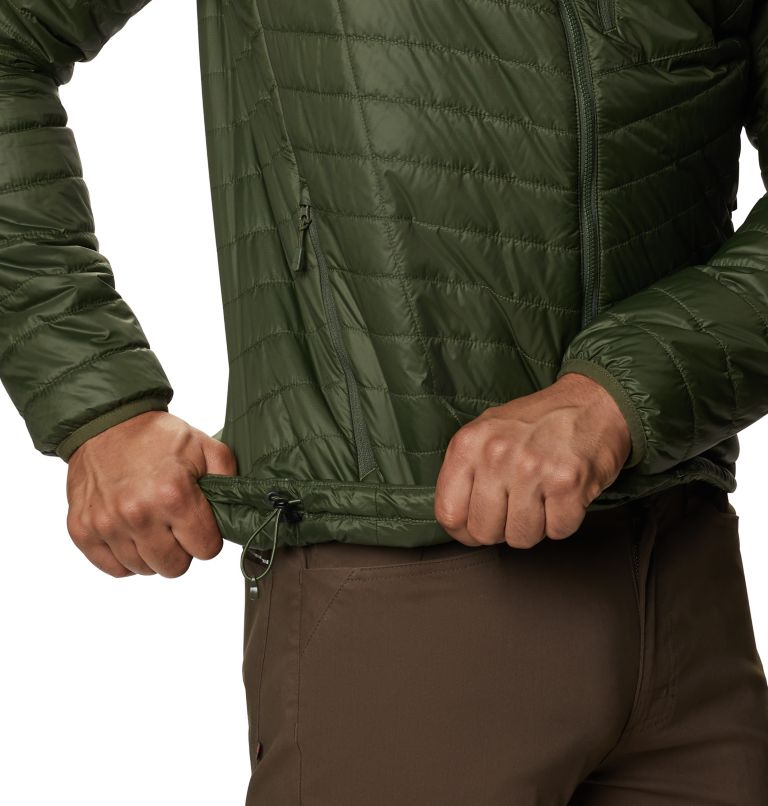 Derra Hooded Jacket M | 347 | XL Men's Derra Hooded Jacket, Surplus Green, a3