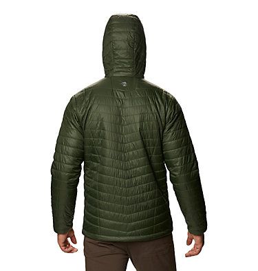 Men's Derra Hooded Jacket Derra Hooded Jacket M | 347 | L, Surplus Green, back